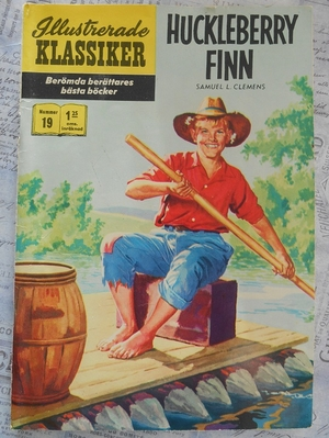 ILLUSTRERADE KLASSIKER - HUCKLEBERRY FINN