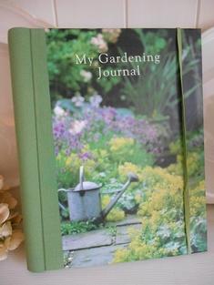 VACKER ANTECKNINGSBOK - MY GARDENING JOURNAL