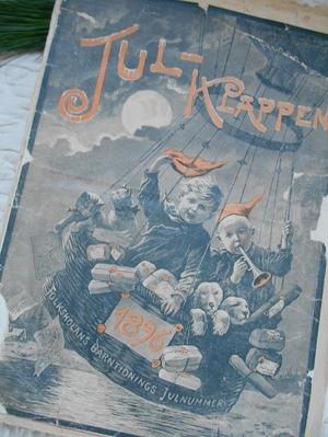 ANTIK JULTIDNING - JULKLAPPEN FRÅN 1896