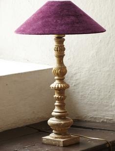 LAMPFOT ANTIKGULD