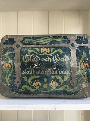 GAMMAL PLÅTBURK - THULE CACAO